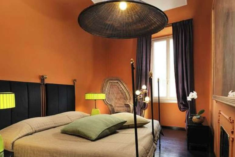 Guest room at Casa Howard