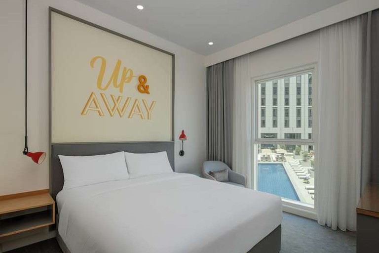 Guest room at Rove At The Park