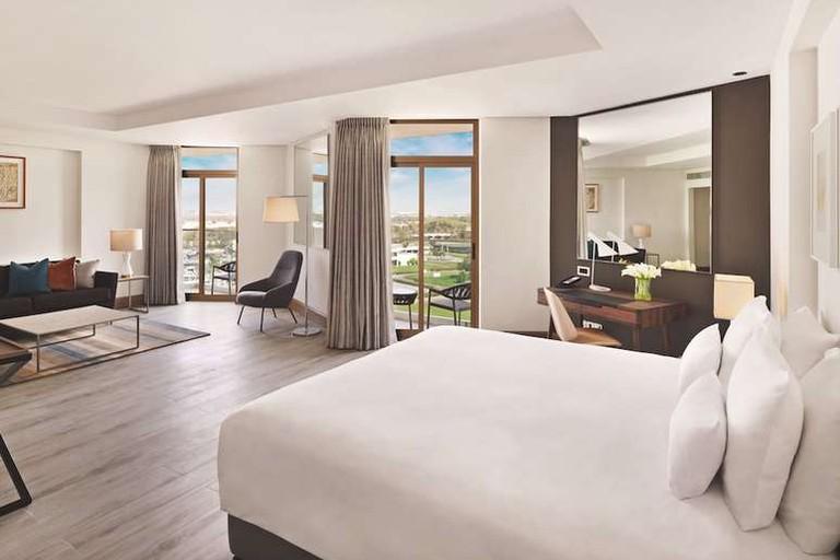 Junior suite at JA The Resort