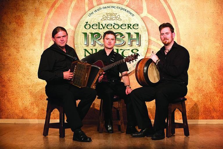 Enjoy a traditional Irish show