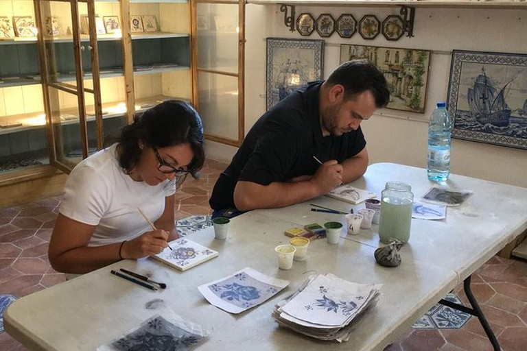 Learn about the azulejo and paint your own on this cultural experience