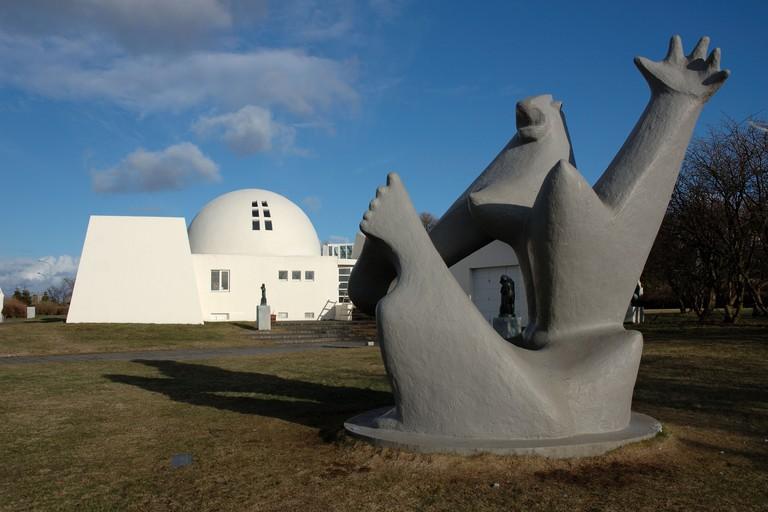Asmundur Sveinsson Sculpture Museum in Reykjavik, Iceland
