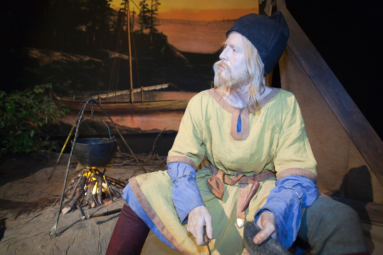 Delve into Iceland's Viking era with a trip to the Saga Museum
