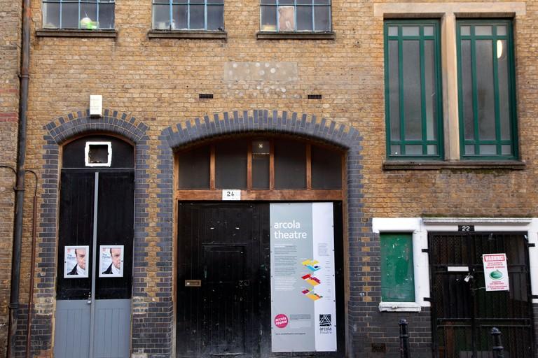 Arcola Theatre, Dalston, London.