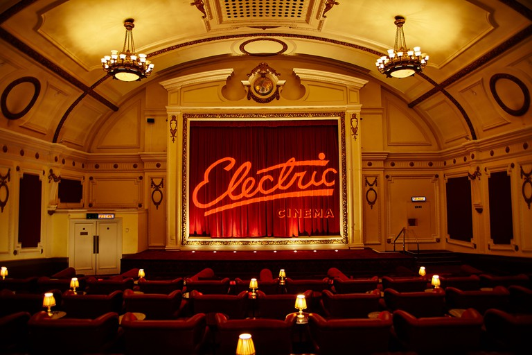 Interior of Electric Cinema