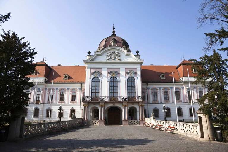 The Royal Palace in Godollo, Hungary