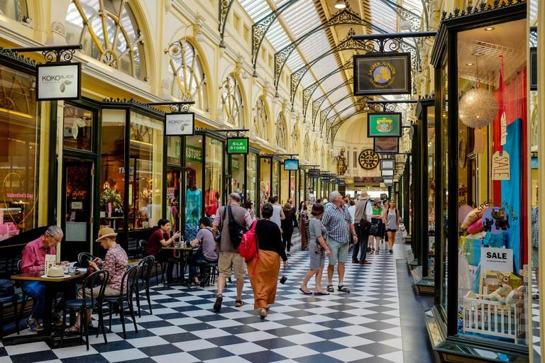 The Royal Arcade Melbourne CBD Australia