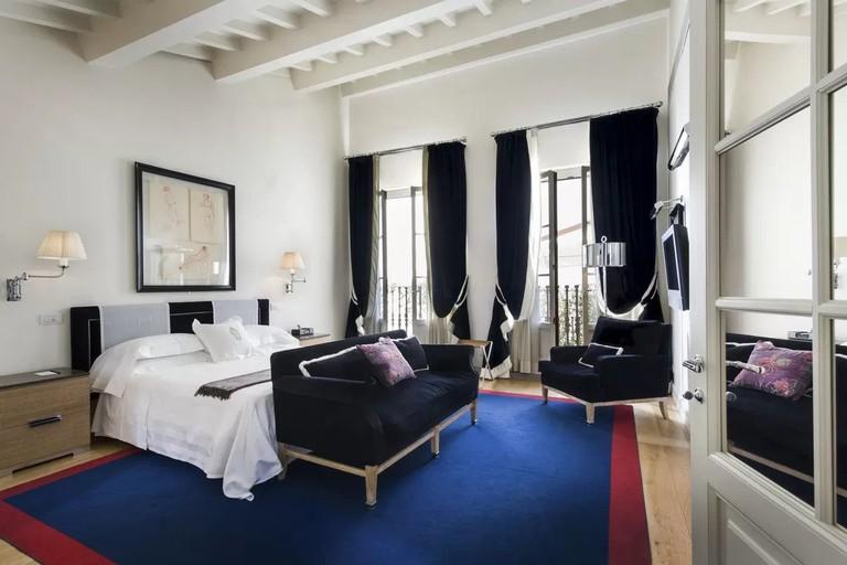 Palazzo Vecchietti's suites are elegant and spacious
