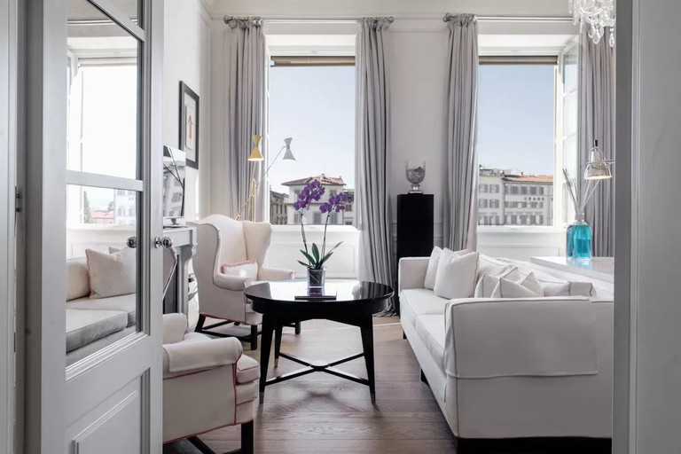 The chic J.K. Place is conveniently situated at Piazza Santa Maria Novella