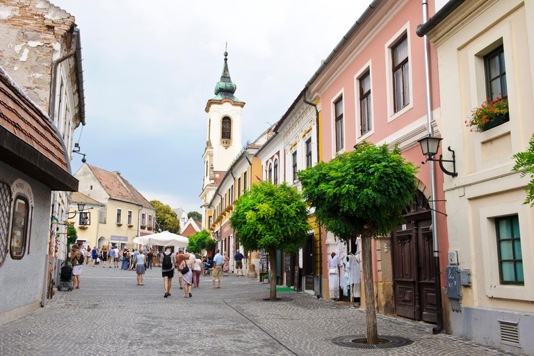 The picturesque village of Szentendre, Hungary