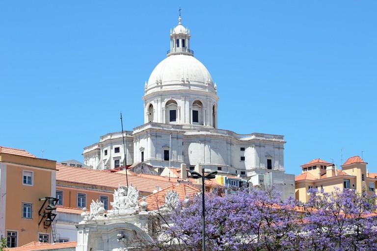 Santa Engracia Church, or the National Pantheon, in Lisbon