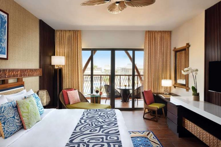 Guest room at Lapita, Dubai Parks and Resorts, Autograph Collection