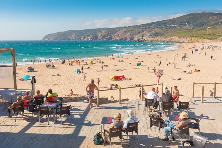 Praia do Guincho, Cascais, Portugal.
