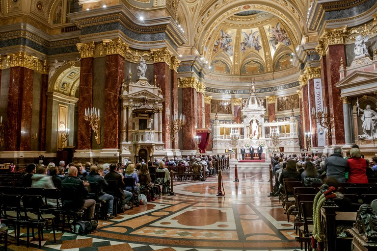 St Stephen's Basilica can house more than 8,500 people