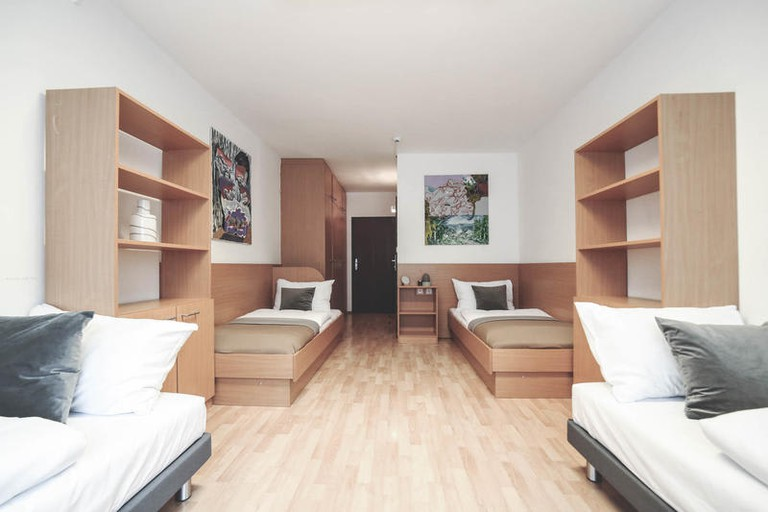 Guest room at myNext Campus Hostel