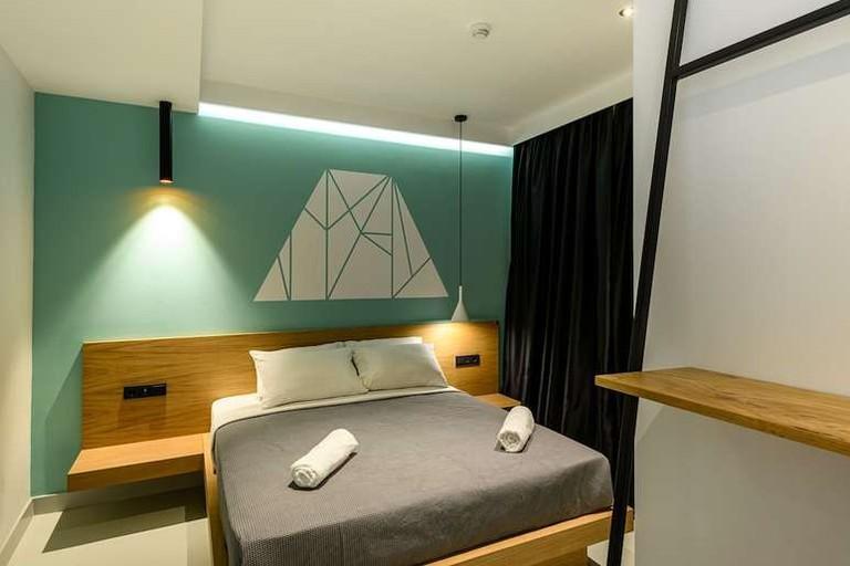 Guest room at Mosaikon