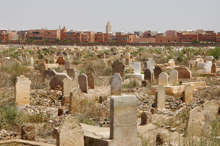 Jewish graveyard, Mellah, Marrakesh.