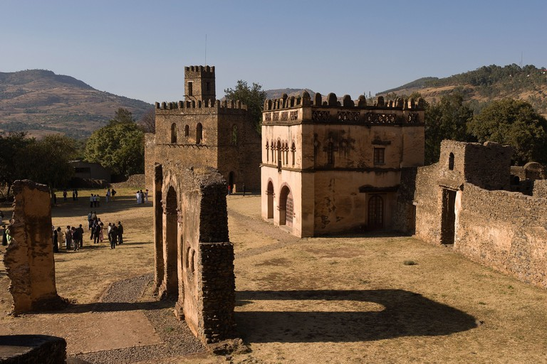Elk200-2296 Ethiopia, Gondar, Royal Enclosure, Library