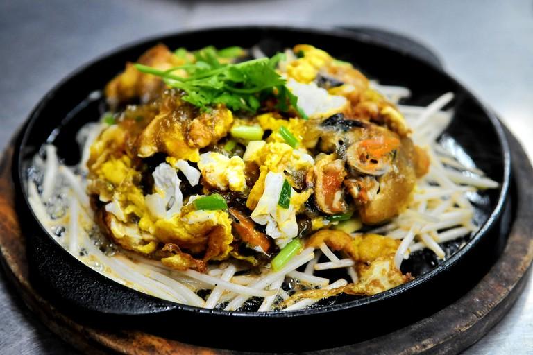 Taste of Thailand - Thai Oyster Omelette  (Hoi Tod)