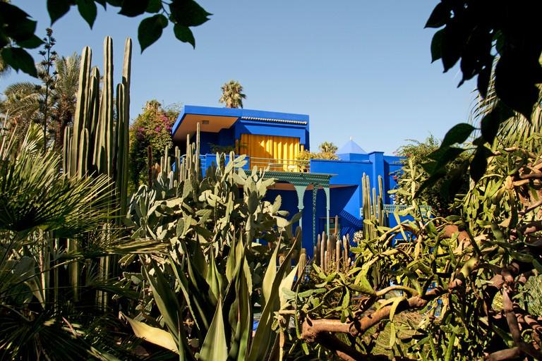 Jardin Majorelle and Villa Marjorelle, Marrakesh.