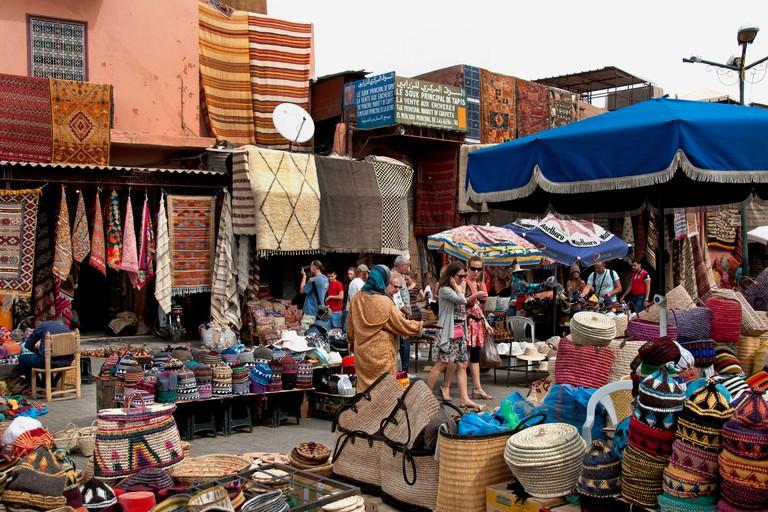 Old Spice Market, Marrakesh.