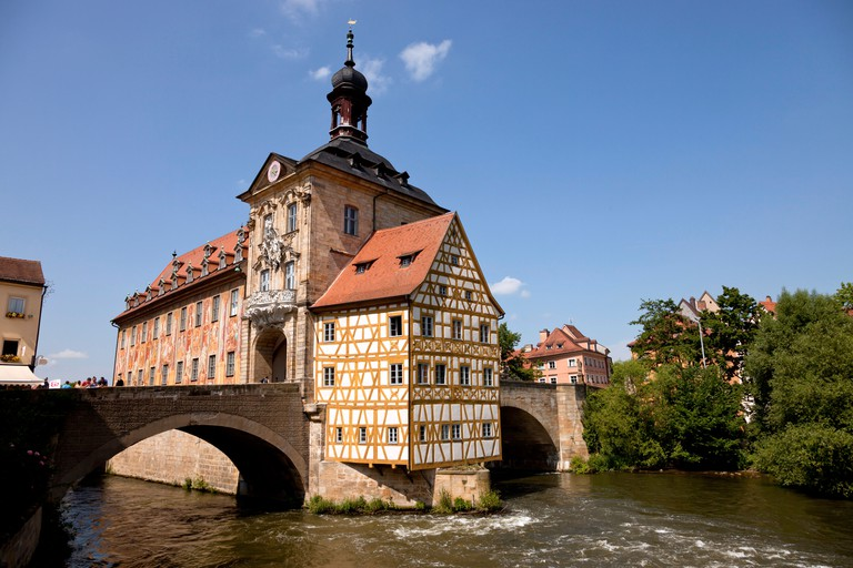 Built in the 15th century, Bamberg's Old Town Hall is a fascinating piece of architecture