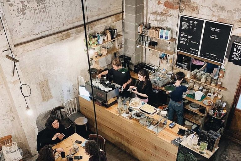 Expect artisanal coffee, vegan options and tons of plants at Espai Joliu and Orval