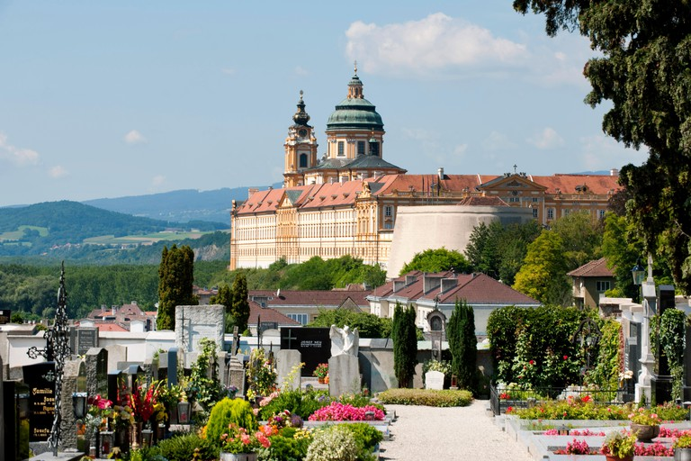 The ancient town of Melk is interesting for history lovers