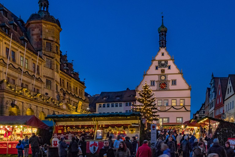 For a truly immersive experience, head to Rothenburg ob der Tauber