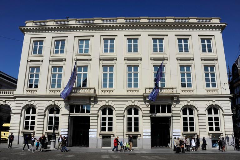 Magritte museum,Brussels,Belgium