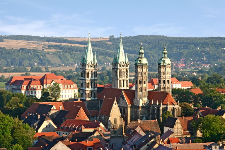 "Naumburg Cathedral was designed by the German architect known as ""Naumburg Master"" and built between 1213 and 1250"