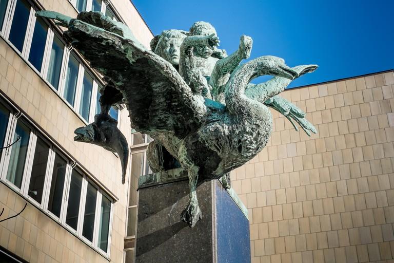 The Danish Music Museum Copenhagen.