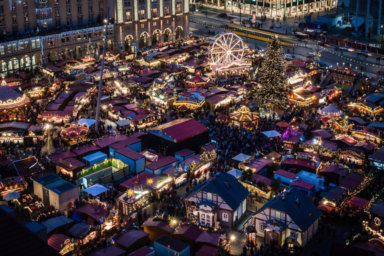 Christmas market activities in Dresden date back well into the 15th century