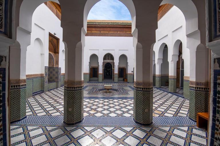 Interior of Dar Si Said Museum