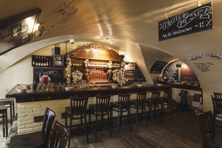 Die Weinorgel is a great place to try local wines