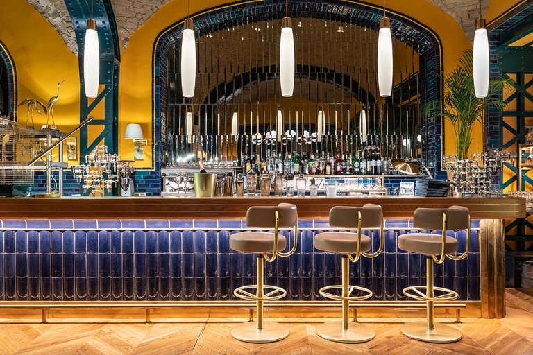 The interior of Hilda restaurant
