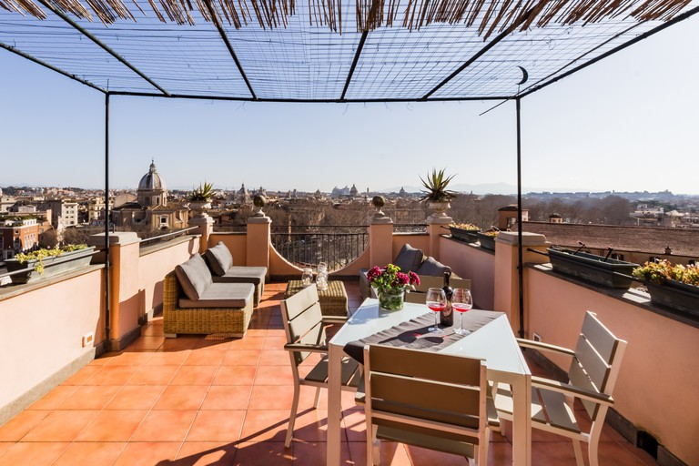Watch the sunrise over Rome from this incredible sky terrace
