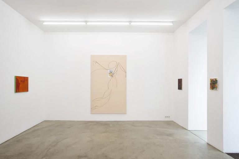 ADRIAN BUSCHMANN, weekend im office. Gabriele Senn Galerie