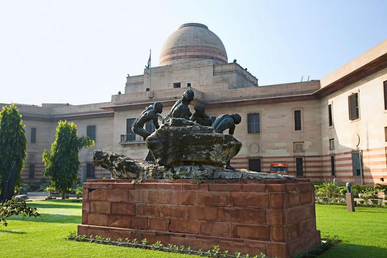 The National Gallery of Modern Art in Delhi
