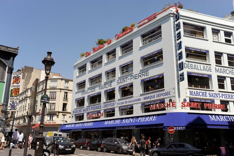 The Marché Saint Pierre is the go-to destination for fabrics and prints