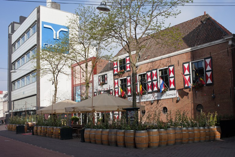 Rootz cafe restaurant in Den Haag (Hague) in Holland, the Netherlands.