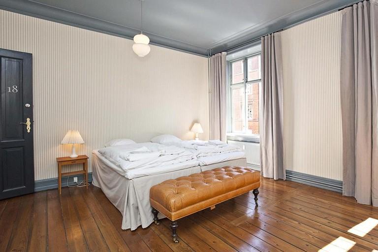 Rye115 Hotel's rooms feature vintage Scandinavian furniture