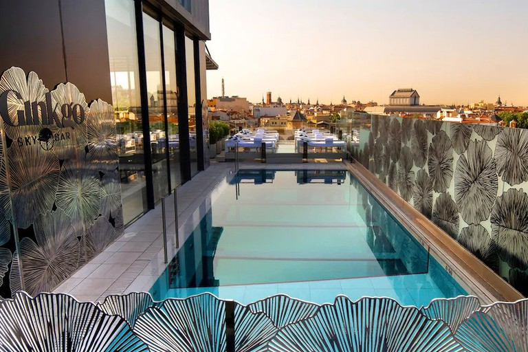 VP Plaza Design boasts a showstopping transparent-floored pool