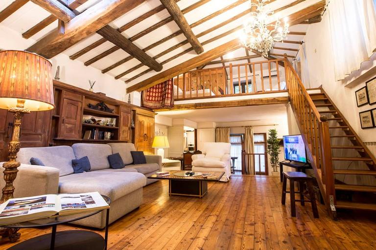 Wooden villa in Trastevere