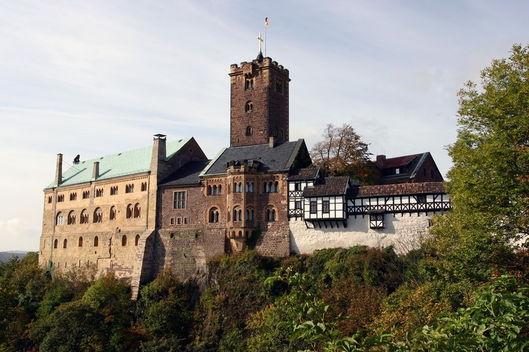 Wartburg, in Eisenach, was the first castle in Germany to earn UNESCO World Heritage status