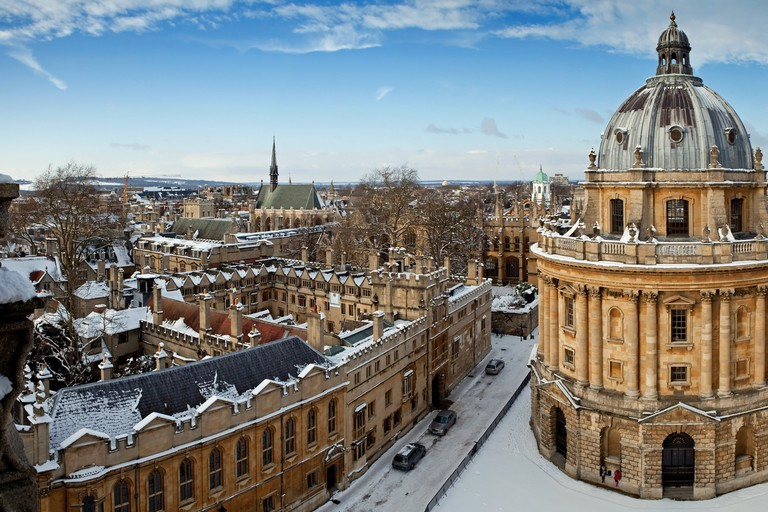 Radcliffe Camera and All Souls College 1438
