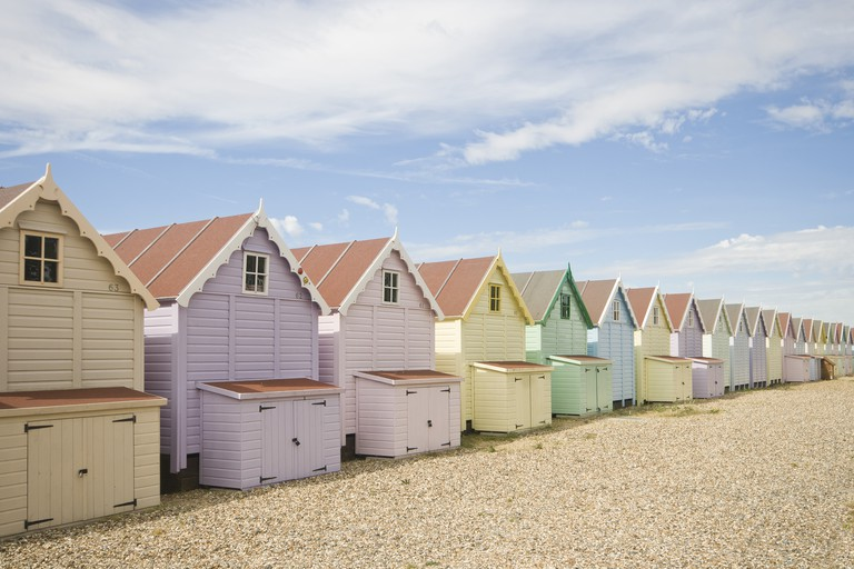 Pastel Huts II (Round the Back)