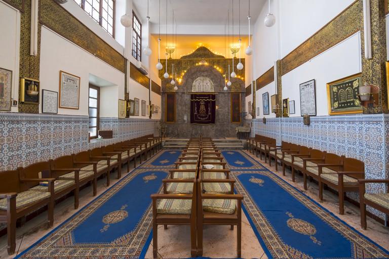 Alzama Synagogue, Derb Saka, Medina, Marrakech, Marrakech-Tensift-Al Haouz, Morocco