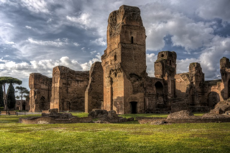 Baths of Caracalla-Rome,Italy