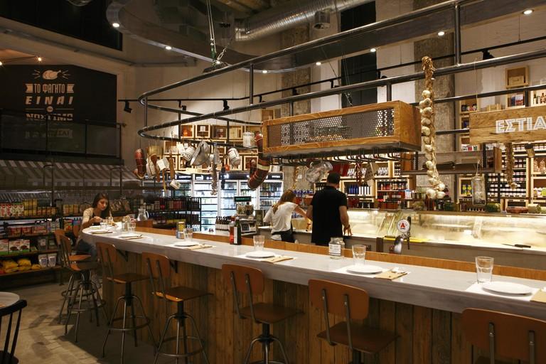 Ergon restaurant and delicatessen in Thessaloniki
